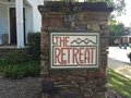 Retreat sign